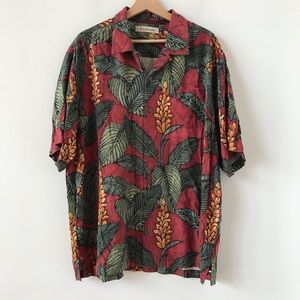 Tommy Bahama silk floral button down